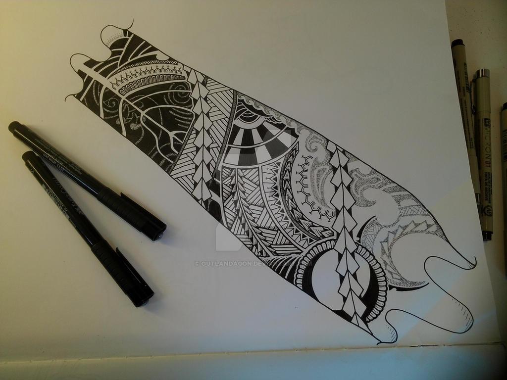 Forearm tattoo design by outlandagon on deviantart for Forearm tattoo sketches