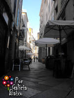 Rua Zona Vella - Ourense - Galiza by Porgaliciabaixo