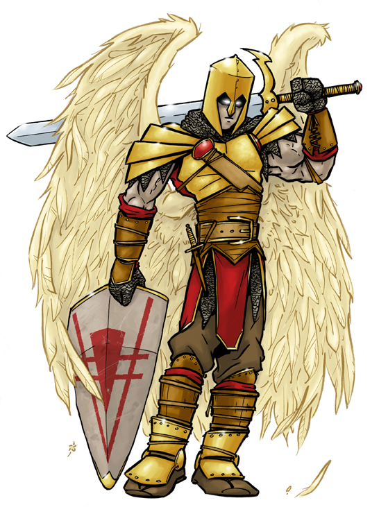 Angel Warrior 1 by andrewchandler80
