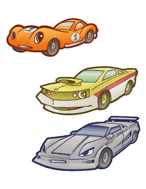 Cartoon Cars 2 by andrewchandler80