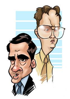Scott and Schrute