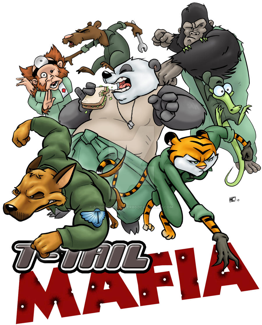 T-Tail Mafia poster by andrewchandler80