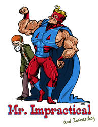 Mr. Impractical (and Infeasiboy) by andrewchandler80