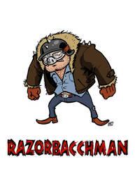 Razorbacchman by andrewchandler80