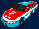 Buster Bunny Nascar front