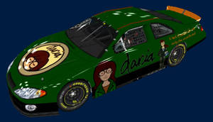 Daria Nascar front by Framwinkle