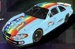 Rainbow Dash Nascar - Front