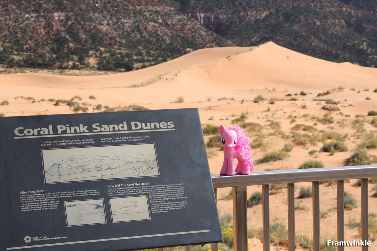 Pinkie Pie visits the Coral Pink Sand Dunes