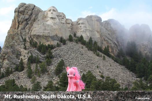 Mt Rushmore Pinkie