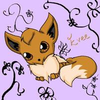 Evee by Fantailed-Hedgehog