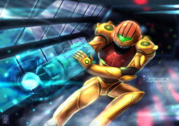 Samus - Metroid by chinchongcha