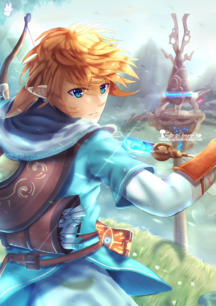 Link - Breath of the Wild by chinchongcha