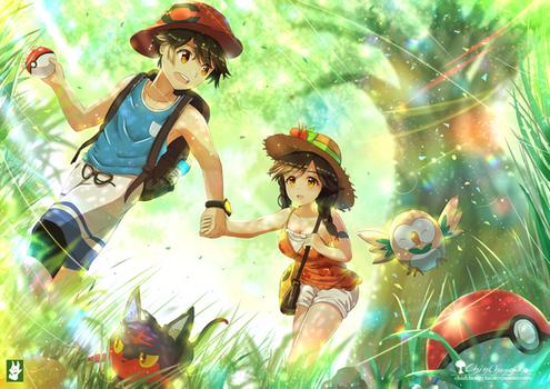 Pokemon - Ultra Sun Ultra Moon - Concept art