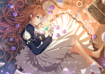Violet Evergarden by chinchongcha