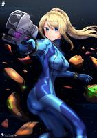 Samus zero suit by chinchongcha