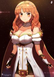 Celica - Fire emblem by chinchongcha
