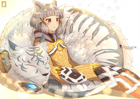 Nia and Dromarch
