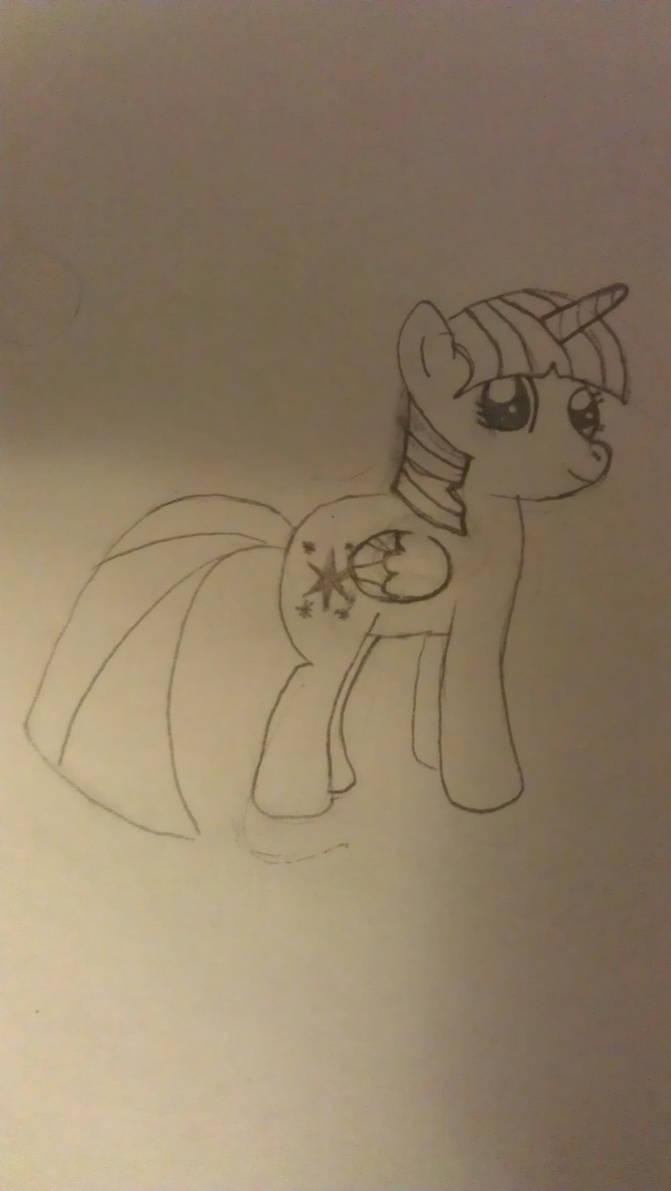 Alicorn twilight sketch