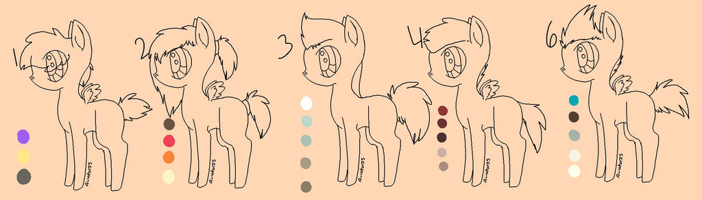 MLP Pallette Adopts by Vexational