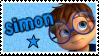 ALVINNN!!!- Simon stamp by gleefulchibi