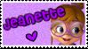 ALVINNN!!! - Jeanette stamp by gleefulchibi