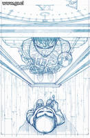 LK Clockworks 3 pencils by GabrielRodriguez