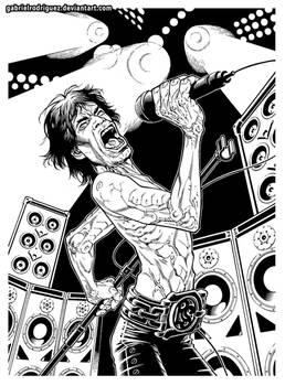 Mick -Ironman- Jagger inks