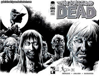 Hero Initiative The Walking Dead 100 by GabrielRodriguez