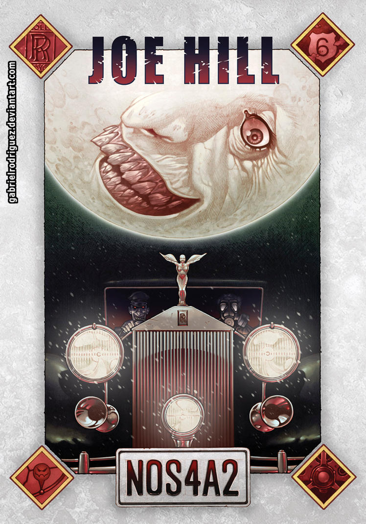 Nos4a2 Cover Color by GabrielRodriguez