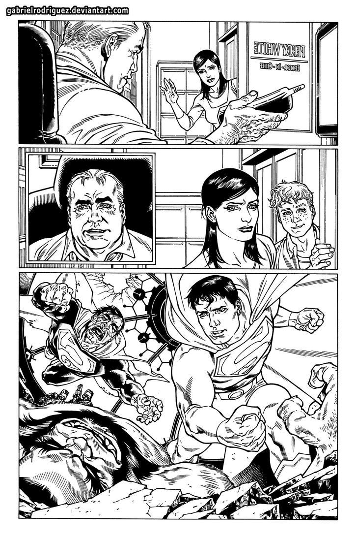 Superman Exposed P3 pag 01 sample by GabrielRodriguez