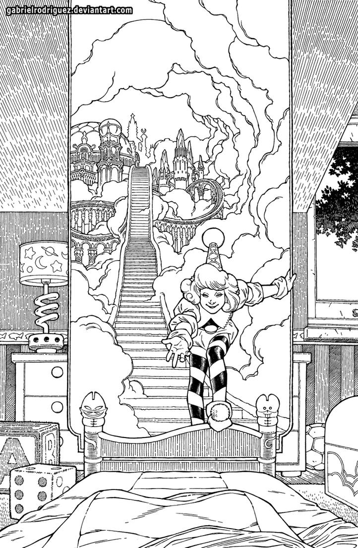 Little Nemo 2013 teaser inks by GabrielRodriguez