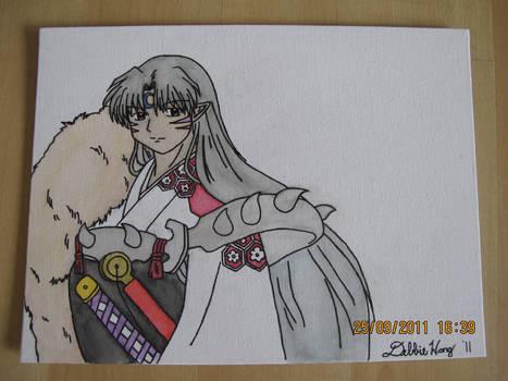 Sesshoumaru Painting
