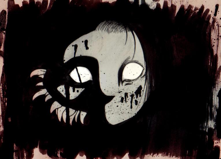 Face in the Dark by SuperTako
