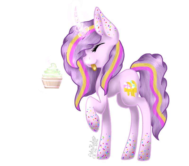 Sweet Cupcake - Draw It Again by AdaKola