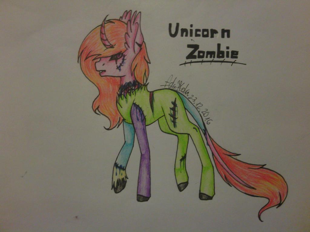 Unicorn Zombie adopt[OPEN] by AdaKola