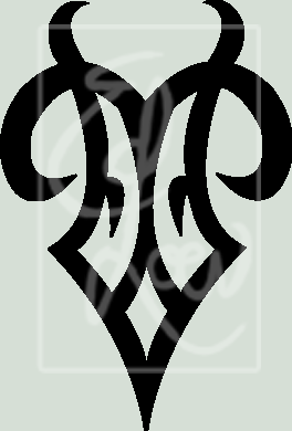 Zodiac Tattoo Designs With Image Zodiac Symbol Picture Tribal Aries Tattoo 4