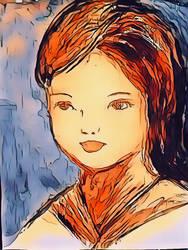 Girl  by miladyartist