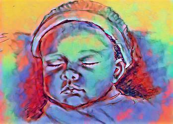 Baby  by miladyartist