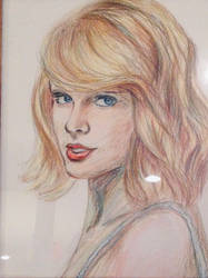 Taylor Swift portrait  by miladyartist