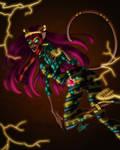 Cleolei - Neon Cat by W-0-F