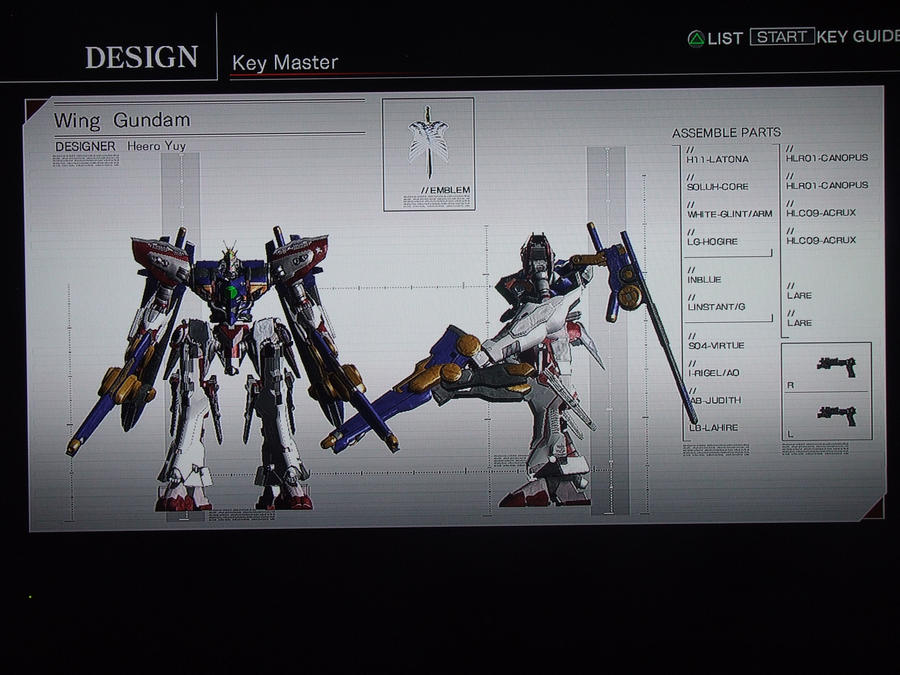 ACFA Heero's Wing Gundam Zero by rizegreymon33