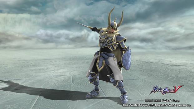 Soul Calibur V - Warrior of Light FFI/Dissidia
