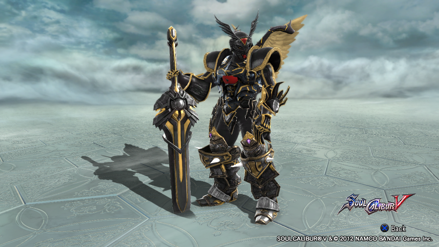 Soul Calibur V - Alphamon by rizegreymon33