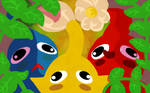 Pikmin: Three lil' rascals