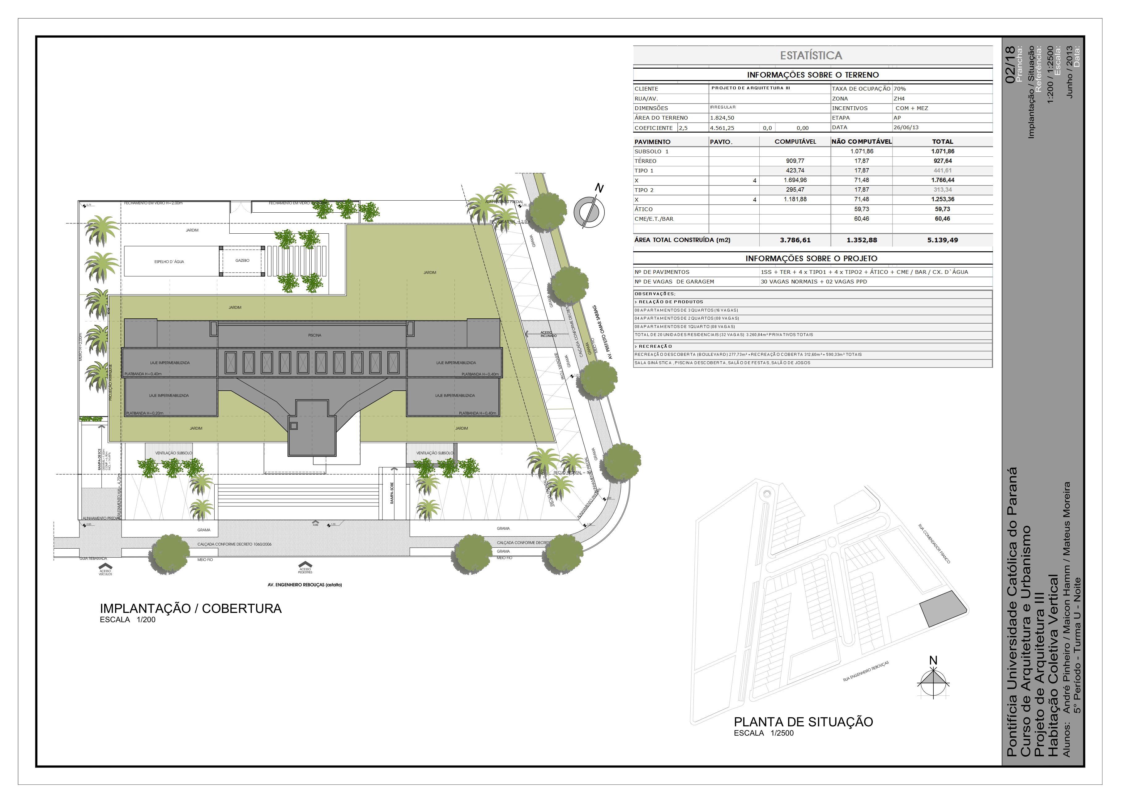 Residential Building Site Plan