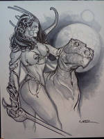 Dejah Thoris final by ukosmith