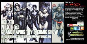 Grand Rapids Comic Show, Dec. 7th 2013 by ukosmith