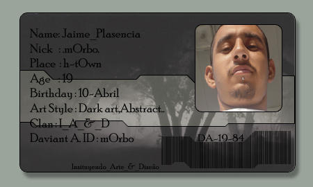 mOrbo's ID