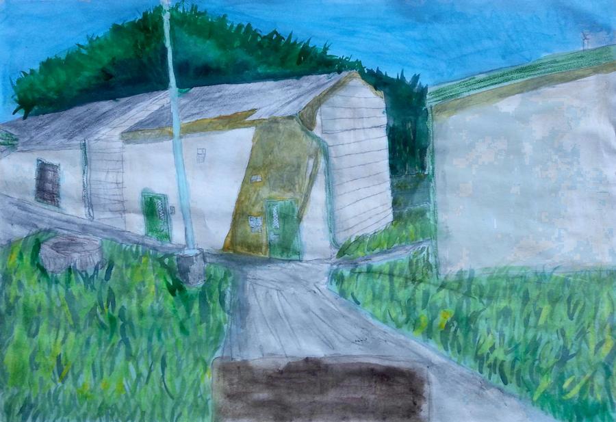 School Landscape 1 by Leo-Garth