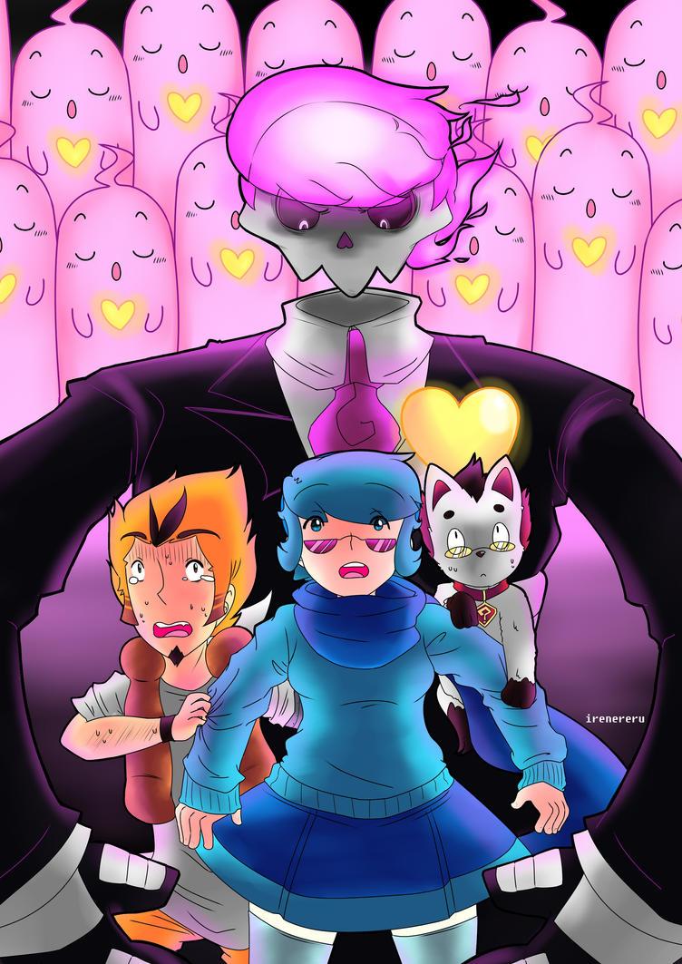 Mystery Skulls Animated-Ghost by irenereru